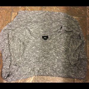 Mossimo Tunic Black/Gray