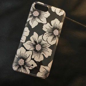 Kate spade IPhone 7 plus floating flower case