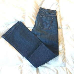 Citizens of humanity bootcut Kelly jeans 25