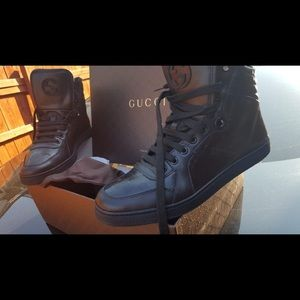 Shoes Gucci real with box