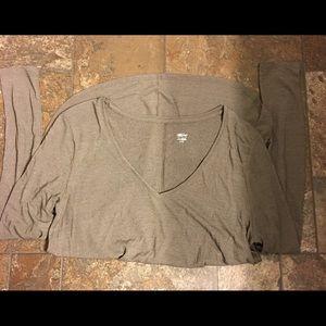 Mossimo Long Sleeve Tunic