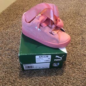 Pink Toddler Puma