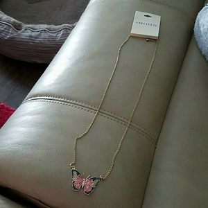 Butterfly necklace NWT