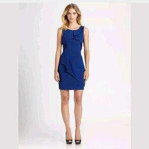 BCBGMAXAZRIA Siri Sheath Dress SZ 2 Royal Blue