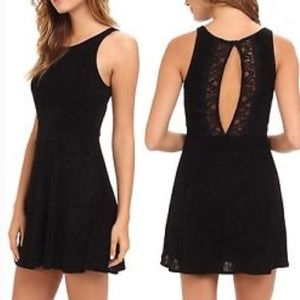 Free People Lady Jane Stretch Lace Back Dress
