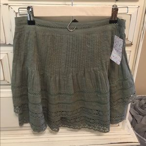 Free people skirt boho