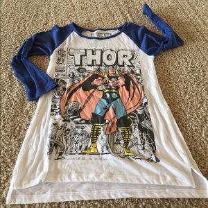 """Marvel """"the mighty THOR"""" baseball style Supersoft"""