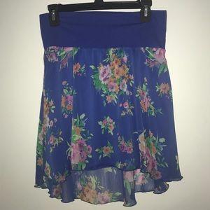 Blue Floral Skirt🌸