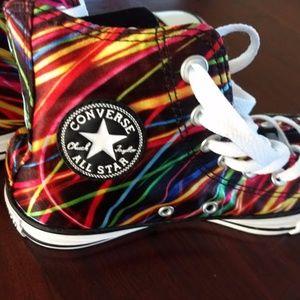 Converse High tops - Multi Colored
