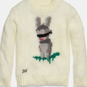 Coach X Baseman Emmanuel Hare Ray Oversize Sweater