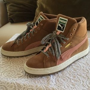 Puma Winterized Suede Rugged Sneaker