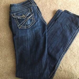 Silver jeans pioneer bootcut 27/33