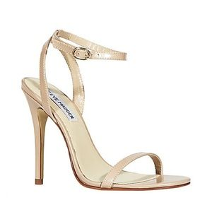 Steve Madden strappy nude heels