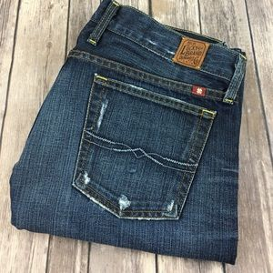 Lucky Brand Jeans Riley Boyfriend 8 29 Distressed