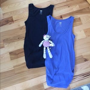 *TWO* Old Navy Maternity Tanks