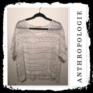 Anthropologie Cloth and Stone High Low T shirt