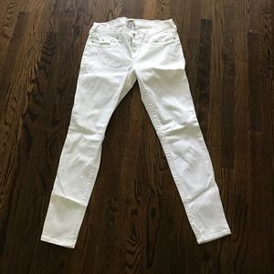 True Religion jeans Size 32 white jeans