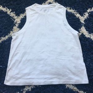 White Gap high neck tank top!