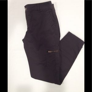 Athleta Skinny Cargo Pants Hiking Casual Zipper