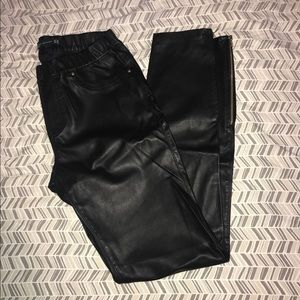 Zara Faux Leather Pants Size XS