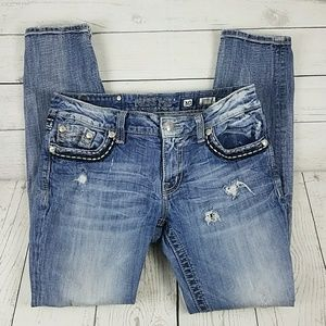 Miss Me Jean's Ankle/Crop Size 30