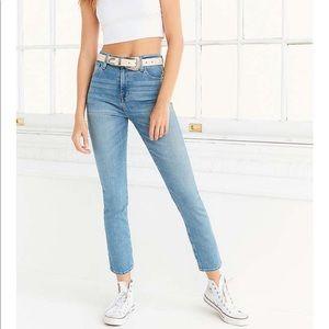 BDG girlfriend high rise jeans