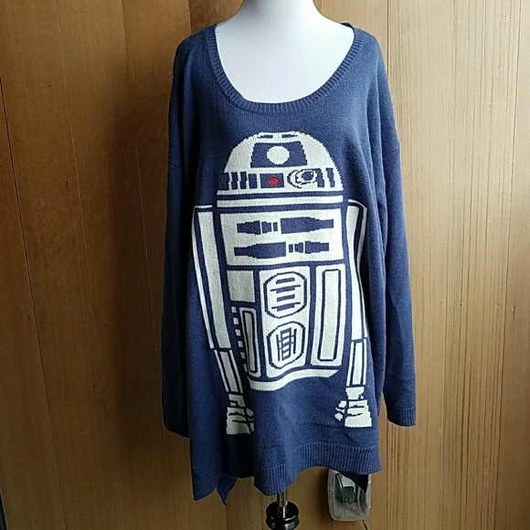 torrid Sweaters | Star Wars Plus Size R2d2 Sweater | Poshmark