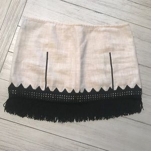 Free People Fringe Mini