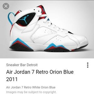 ba7dc0c66d3b Air Jordan Shoes - Air Jordan 7 orion blue