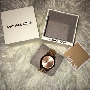 ✨SALE! 2DAY ONLY!  michael kors rose gold watch✨