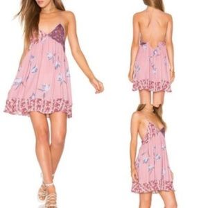 NWT Intimately Free People Raton floral dress slip