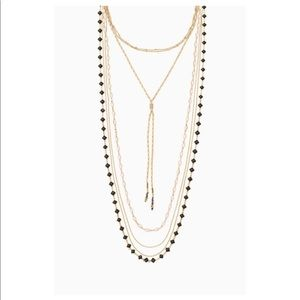 Stella & Dot Terney Layered Necklace - 5 in 1!