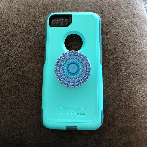 new products 9e5d0 a4c45 iPhone 7 Otter box commuter series w/ pop-socket.