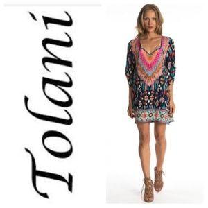 Tolani silk Felicity print tunic/dress!