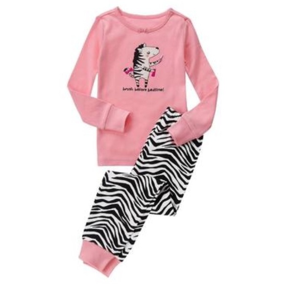 NWT Boy/'s Gymboree Afraid Dark long sleeve shirt /& pants pajamas gymmies ~ 5 10