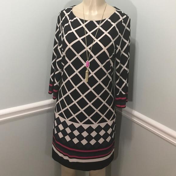 322d8e669d3e3 Jessica Howard Dresses | Diamond Shift Dress Size M Nwt | Poshmark