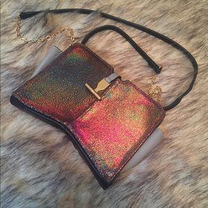 Pour La Victoire Holographic Evening Bag