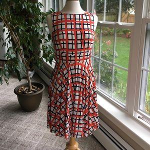 Printed dress by Donna Morgan