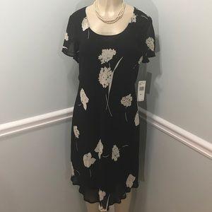 Jones New York Floral Dress Size 16