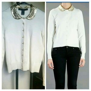 Marc by Marc Jacobs XS Sweater cardigan white 50%