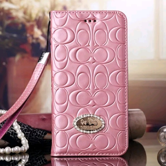 hot sale online 8fd8e b241f Hold for true b Coach IPhone 7 Plus Wallet Case