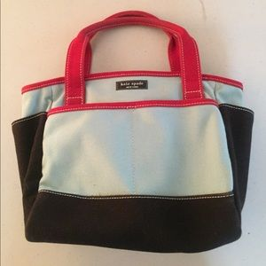 Kate Spade small canvas tote