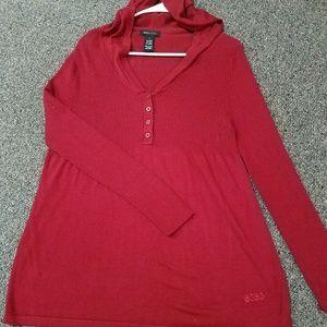 BCBG Red Sweater