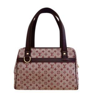 Louis Vuitton Mini Lin Josephine PM Red Purse