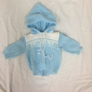 Other - Baby sweater with hoodie