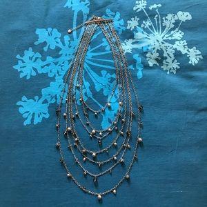 Loft Layered Statement Necklace