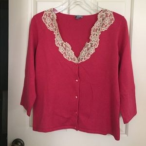 2 piece sweater set Ann Taylor