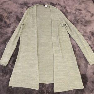 Long H&M cardigan