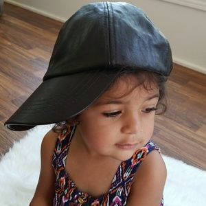 Handmade Authentic Leather Ball Cap Unisex