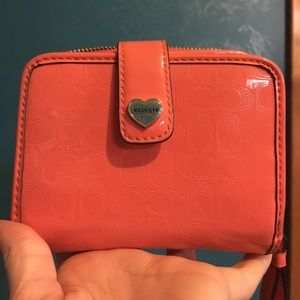 Lightly used COACH Wallet